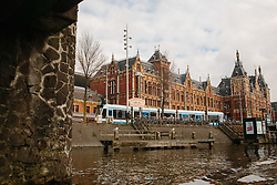 Amsterdam by boat. Canal tour.