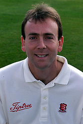 M LLOTT.ESSEX COUNTY CRICKET CLUB ..ESSEX PLAYER PHOTOS, April 10, 2000. Photo by Andrew Parsons / i-images..