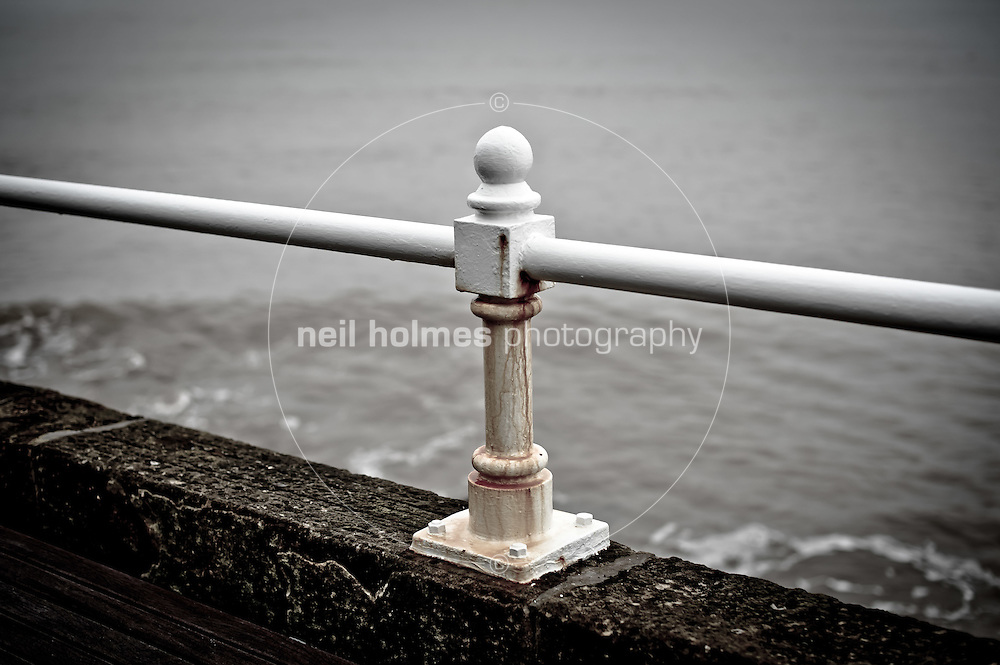 Sea wall railings, Bridlington