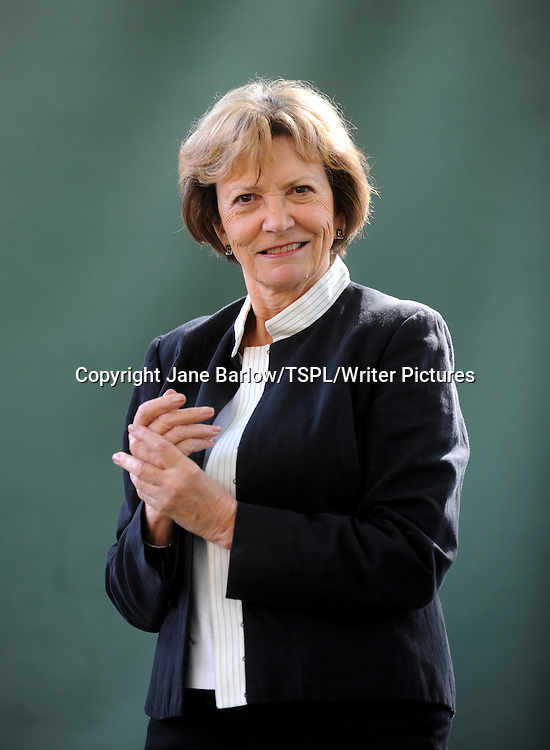 Joan Bakewell (Joan Dawson Bakewell, Baroness Bakewell), English journalist and television presenter, at the Edinburgh International Book Festival, August 22nd, 2011.