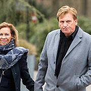 NLD/Leusden/20180306 - Uitvaart Mies Bouwman, Henny Huisman en partner Lia