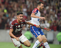 2019-11-10 Rio de Janeiro, Brazil soccer match between the teams of Flamengo and Bahia , validated by the Brazilian Football Championship .in the photo Reinier  of Flamengo  club celebrates his goal Photo by André Durão / Swe Press Photo