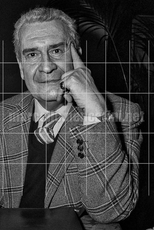 Italian art critic Federico Zeri (1981) / Il critico d'arte Federico Zeri (1981) - © Marcello Mencarini