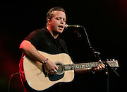 CAMBRIDGE, UK - AUGUST 03: Jason Isbell performs on stage at the Cambridge Folk Festival on August 3rd, 2014 in Cambridge, United Kingdom. (Photo by Philip Ryalls/Redferns)**Jason Isbell