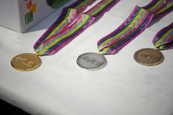 Medailles<br /> European Championship Ponies<br /> Moorsele 2009<br /> Photo© Hippo Foto - Dirk Caremans