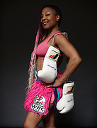 I work at Overthrow boxing gym i teach boxing Fitness classes and i box professional I'm the first Haitian female boxer and i got into boxing because i was angry so boxing was my outlet and it made me mentally stronger in life. I had a very violent home and boxing was one of the ways to cope with it.