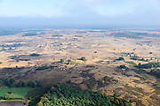 Nederland, Noord-Brabant, Gemeente  Heeze-Leende, 24-10-2013; Strabrechtsche Heide, natuurgebied in beheer bij Staatsbosbeheer.<br /> Brabant Moorland (heath), nature reserve managed by the Forestry Commission.<br /> luchtfoto (toeslag op standaard tarieven);<br /> aerial photo (additional fee required);<br /> copyright foto/photo Siebe Swart.