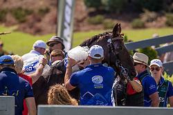 Sandmann Christoph, GER, Amico 34, Bo Liberator, Fredie U, Wanita 5<br /> World Equestrian Games - Tryon 2018<br /> © Hippo Foto - Dirk Caremans<br /> 22/09/2018