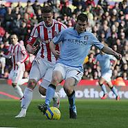 Stoke City v Manchester City 260113