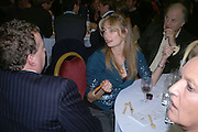 Clementine Hambro and Orlando Fraser. Charity Quiz night for Rapt ( Rehabilitation of Addicted Prisoners Trust) Town Hall. Hammersmith. 14  November 2005 . ONE TIME USE ONLY - DO NOT ARCHIVE © Copyright Photograph by Dafydd Jones 66 Stockwell Park Rd. London SW9 0DA Tel 020 7733 0108 www.dafjones.com