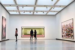 © Licensed to London News Pictures. 24/01/2018. London, UK. Photographs by artist ANDREAS GURSKY is on display as part the first major UK retrospective of the German photographer. The showcase also marks the Haywood galleries 50th anniversary following its two year refurbishment. Photo credit: Ray Tang/LNP