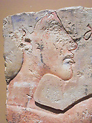 Relief fragments (Egyptian), depicting the Pharaoh Akhenaten 1353-1336 BC.