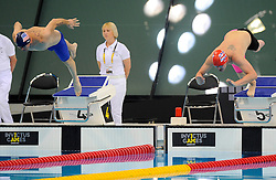 - Photo mandatory by-line: Joe Meredith/JMP - Mobile: 07966 386802 - 14/09/14 - The Invictus Games - Day 4 - Swimming - London - Queen Elizabeth Olympic Park