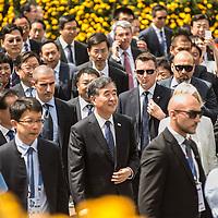Foto Piero Cruciatti / LaPresse<br /> 08-06-2015 Milano, Italia<br /> Cronaca<br /> National China Day a Expo<br /> Nella Foto: Stefania Giannini, ministro dell&rsquo;Istruzione, Universit&agrave; e Ricerca e Wang Yang, Chinese vice premier<br /> <br /> Photo Piero Cruciatti / LaPresse<br /> 08-06-2015 Milan, Italy<br /> News<br /> National China Day at the World Expo<br /> In the Photo: Stefania Giannini, Minister of Education and  WangYang, Chinese vice premier