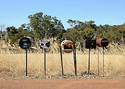 AUSTRALIA - BALINGUP Mail boxes 13/01/2010. STEPHEN SIMPSON...