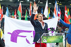 Opening Ceremony, Staut Kevin (FRA)<br /> Alltech FEI World Equestrian Games™ 2014 - Normandy, France.<br /> © Hippo Foto Team - Leanjo de Koster<br /> 25/06/14