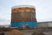 Gasometer, Lowestoft, Suffolk, England