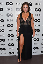 ASHLEY GRAHAM at the GQ Men of The Year Awards 2016 in association with Hugo Boss held at Tate Modern, London on 6th September 2016.