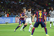 Andrea Pirlo of Juventus on the ball during the Champions League Final between Juventus FC and FC Barcelona at the Olympiastadion, Berlin, Germany on 6 June 2015. Photo by Phil Duncan.