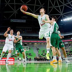 20130301: SLO, Basketball - ABA League, KK Union Olimpija vs KK Krka