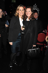 Left to right, the HON.MRS MONTGOMERY and MELISSA KNATCHBULL at a party to celebrate the publication of Cloak & Dagger Butterfly by Amanda Eliasch held at the Soho Revue Bar, London on 17th November 2008.