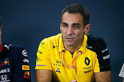 September 20, 2019, Singapore, Singapore: Motorsports: FIA Formula One World Championship 2019, Grand Prix of Singapore, .Cyril Abiteboul (FRA, Renault F1 Team) (Credit Image: © Hoch Zwei via ZUMA Wire)
