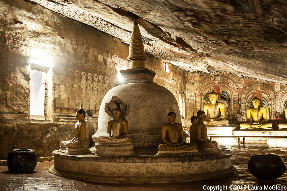 Buddhist Cave at Dambulla, Sri Lanka