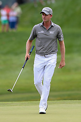 June 22, 2018 - Cromwell, Connecticut, United States - Webb Simpson walks the 9th green during the second round of the Travelers Championship at TPC River Highlands. (Credit Image: © Debby Wong via ZUMA Wire)