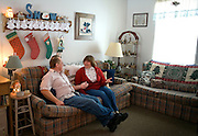 Garret County Community Action Non-Profit...Bill and Sally Hartzel in their living room at the Pysell Ridge Housing development. (Construction Cost: $4.4 mill - 30 Units) The Hartzel's moved into the development at the end of July 2006...Housing Development - Garrett county Community Action is the developer and owner of over 400 units of rental housing. GCCAC also builds single family homes that are sold to persons graduating from its First Time Home Buyers Program. To make building sites affordable and accessible to low and moderate income homebuyers, GCCAC has also developed single family subdivisions for the purpose of selling lots to home buyers..