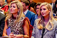 25-9-2018 NEW YORK - Queen Maxima and Ivanka Trump at a meeting of the Women Entrepreneurs Finance Initiative. This initiative, under the supervision of the World Bank, focuses on better financing for female entrepreneurs in developing countries. copyrught robin. utrecht