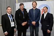 Spala 17/11/2014<br /> Konferencja trener&oacute;w szkolenia olimpijskiego<br /> Na zdj. Stephane Antiga oraz Philip Blain i Piotr Marek /R/<br /> Fot. Piotr Hawalej