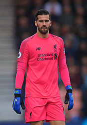 BOURNEMOUTH, ENGLAND - Saturday, December 8, 2018: Liverpool's goalkeeper Alisson Becker during the FA Premier League match between AFC Bournemouth and Liverpool FC at the Vitality Stadium. (Pic by David Rawcliffe/Propaganda)