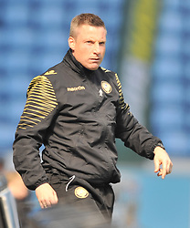 MARK BEEVERS MILLWALL, NEIL HARRIS MANAGER MILLWALL, Coventry City v Millwall Sky Bet League One, Ricoh Arena, Saturday 16th April 2016<br /> Score 2-1