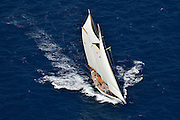 "France Saint - Tropez October 2013, Classic yachts racing at the Voiles de Saint - Tropez<br /> <br /> C,77,LELANTINA,""25,93"",GOELETTE AURIQUE/1937,JOHN ALDEN"