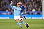 Manchester City midfielder David Silva (21) during the Premier League match between Leicester City and Manchester City at the King Power Stadium, Leicester, England on 18 November 2017. Photo by Jon Hobley.