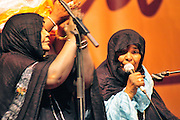 "Badi Lalla singing at the ""III Rencontre Internationale d'Imzad"", Tamanrasset. Algeria 2011"