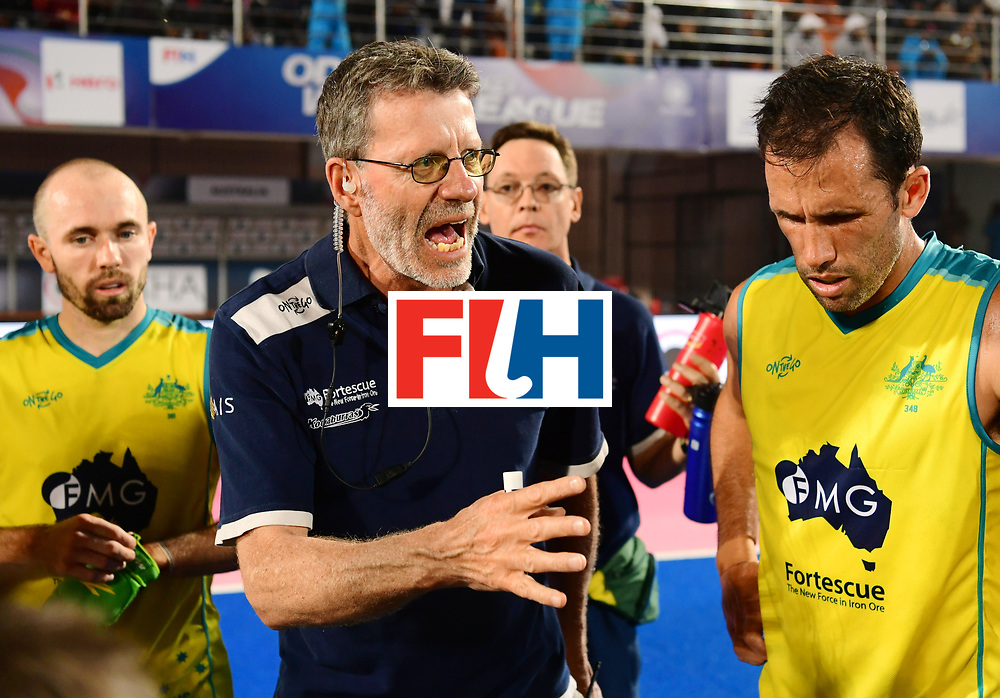 Odisha Men's Hockey World League Final Bhubaneswar 2017<br /> Match id:09<br /> Australia v England<br /> Foto: coach Colin Batch (Aus) <br /> WORLDSPORTPICS COPYRIGHT FRANK UIJLENBROEK