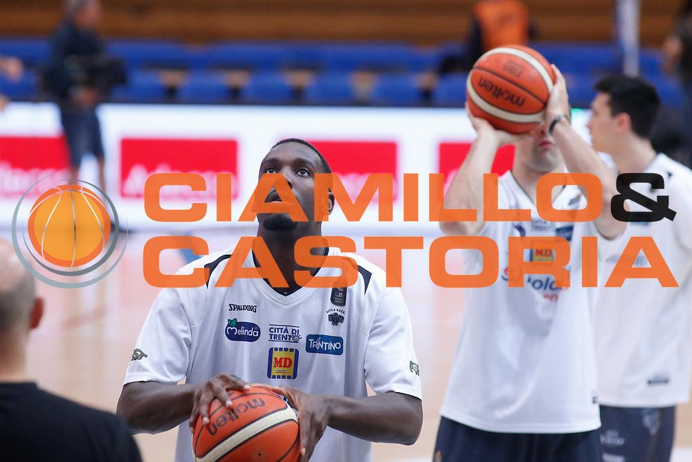 Dustin Hogue, Aaron Craft<br /> Dolomiti Energia Aquila Basket Trento - Umana Reyer Venezia <br /> Lega Basket Serie A 2016/17 Finali Gara 03<br /> Trento, 14/06/2017<br /> Foto Ciamillo-Castoria / M. Brondi