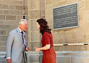 De Prins van Wales bezoekt de St. Eusebiuskerk in Arnhem. De Prins van Wales onthult buiten een plaquette<br /> de ingang om de voltooiing van de recente torenrestauratiewerken te markeren<br /> <br /> The Prince of Wales will visit St. Eusebius Church in Arnhem. The Prince of Wales will unveil a plaque outside<br /> the entrance to mark the completion of the recent tower restoration works'
