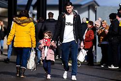 Derby County fans arrive to watch their team play Blackburn Rovers - Mandatory by-line: Robbie Stephenson/JMP - 08/03/2020 - FOOTBALL - Pride Park Stadium - Derby, England - Derby County v Blackburn Rovers - Sky Bet Championship