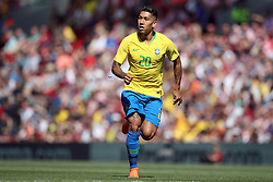 Brazil's Roberto Firmino during the International Friendly match at Anfield, Liverpool. PRESS ASSOCIATION Photo. Picture date: Sunday June 3, 2018. See PA story SOCCER Brazil. Photo credit should read: Nick Potts/PA Wire. RESTRICTIONS: Editorial use only, No commercial use without prior permission.