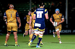 Olly Robinson of Bristol Rugby runs with the ball - Mandatory by-line: Robbie Stephenson/JMP - 04/11/2016 - RUGBY - Sixways Stadium - Worcester, England - Worcester Warriors v Bristol Rugby - Anglo Welsh Cup