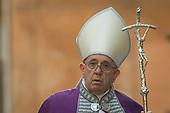 Pope Francis Ash Wednesday - Santa Sabina Church  March 06, 2019