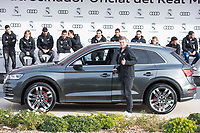Toni Kroos of Real Madrid CF poses for a photograph after being presented with a new Audi car as part of an ongoing sponsorship deal with Real Madrid at their Ciudad Deportivo training grounds in Madrid, Spain. November 23, 2017. (ALTERPHOTOS/Borja B.Hojas)