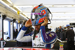March 2, 2018 - Las Vegas, Nevada, United States of America - March 02, 2018 - Las Vegas, Nevada, USA: Darrell Wallace Jr (43) hangs out in the garage during practice for the Pennzoil 400 at Las Vegas Motor Speedway in Las Vegas, Nevada. (Credit Image: © Chris Owens Asp Inc/ASP via ZUMA Wire)