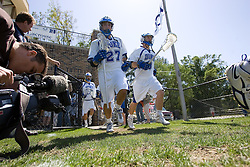 06 May 2007: Duke Blue Devils midfielder Michael Young (27) in a 19-6 victory over the Air Force Falcons at Koskinen Stadium in Durham, NC.
