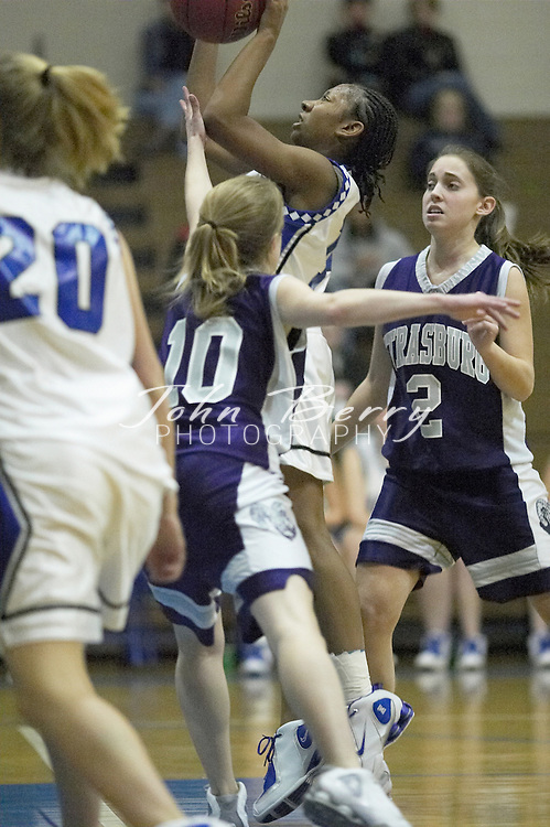 MCHS Varsity Girls Basketball..vs Strasburg..Third Period..December 17, 2004
