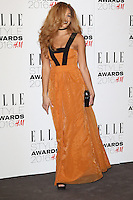 Jillian Hervey, ELLE Style Awards 2016, Millbank London UK, 23 February 2016, Photo by Richard Goldschmidt