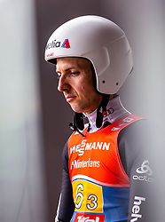 24.02.2019, Bergiselschanze, Innsbruck, AUT, FIS Weltmeisterschaften Ski Nordisch, Seefeld 2019, Skisprung, Herren, Teambewerb, Probesprung, im Bild Simon Ammann (SUI) // Simon Ammann of Switzerland during the trial jump for the men's skijumping team competition of FIS Nordic Ski World Championships 2019 at the Bergiselschanze in Innsbruck, Austria on 2019/02/24. EXPA Pictures © 2019, PhotoCredit: EXPA/ Stefanie Oberhauser