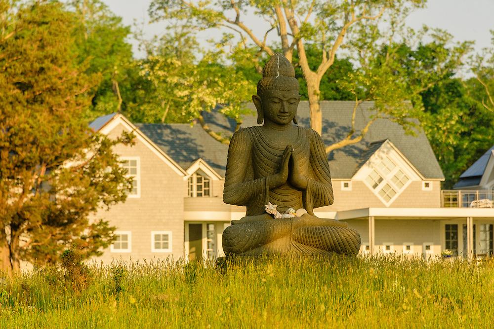 Buddha, Actors Colony Way, Sag Harbor, North Haven,  NY